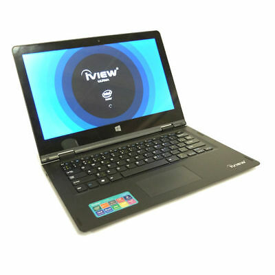 """iview-Ultima 13.3"""" Convertible Touch Screen, Windows 10 Laptop, Intel Atom Quad"""
