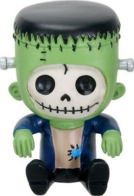 Furrybones Figurine- Frankie The Frankenstein - New Skull Skeleton In Costume