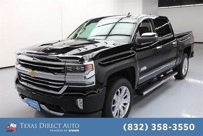 2017 Chevrolet Silverado 1500 High Country Texas Direct Auto 2017 High Country Used 6.2L V8 16V Automatic 4WD Pickup Truck