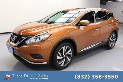 2015 Nissan Murano Platinum Texas Direct Auto 2015 Platinum Used 3.5L V6 24V Automatic AWD SUV Bose