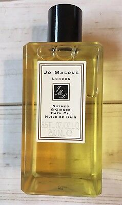 Jo Malone London Nutmeg & Ginger Bath Oil 8.5 FL OZ NEW NO RESERVE!