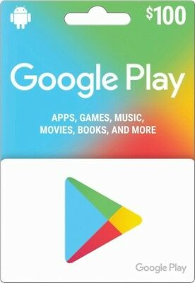 google play gift card $100 Value Now is only $90 !!! It's 10% off !!!