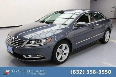 2014 Volkswagen CC Sport 4dr Sedan 6A Texas Direct Auto 2014 Sport 4dr Sedan 6A Used Turbo 2L I4 16V Automatic FWD