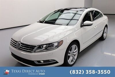 2014 Volkswagen CC Executive Texas Direct Auto 2014 Executive Used Turbo 2L I4 16V Automatic FWD Sedan