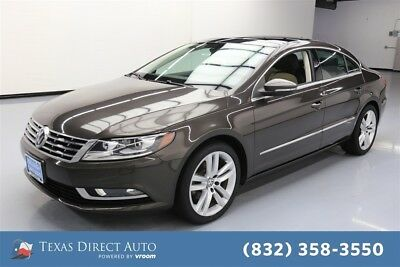 2013 Volkswagen CC Lux Texas Direct Auto 2013 Lux Used Turbo 2L I4 16V Automatic FWD Sedan Moonroof