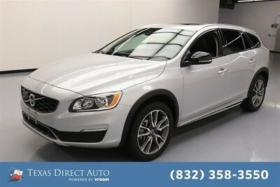 2018 Volvo V60 Cross Country T5 Premier Texas Direct Auto 2018 T5 Premier Used Turbo 2L I4 16V Automatic AWD Wagon