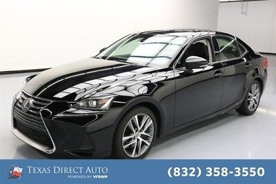 2018 Lexus IS  Texas Direct Auto 2018 Used Turbo 2L I4 16V Automatic RWD Sedan Premium