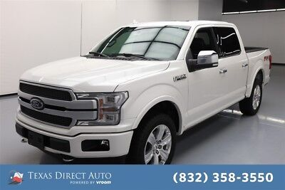 2018 Ford F-150 Platinum 4dr SuperCrew 4WD Texas Direct Auto 2018 Platinum 4dr SuperCrew 4WD Used Turbo 3.5L V6 24V