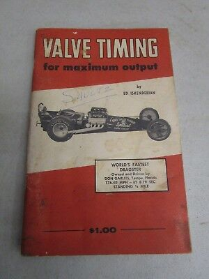 Vintage 1958 VALVE TIMING FOR MAXIMUM OUTPUT CATALOG  *71 Pages*