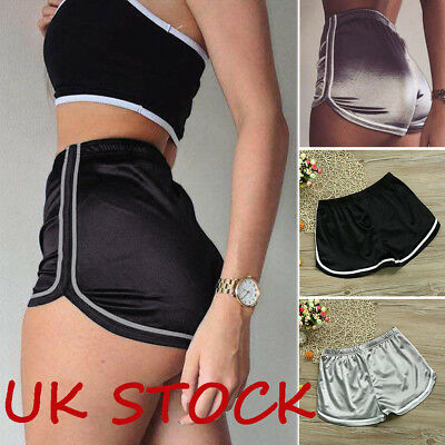 Women Compression Yoga Shorts Sports Gym Fitness Running Butt Lift Booty Pants K