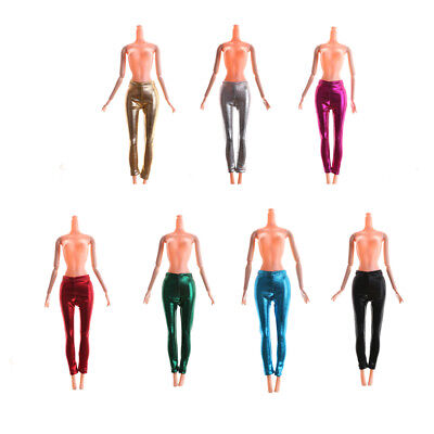 Elastic Candy Color Leather Bottom Pants For  Doll Clothes Trousers TO