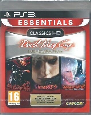 Devil May Cry HD Collection  Brand New PS3 Game UK Release  **FIRST CLASS**