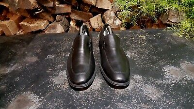 Men's Cole Haan Adams Venetian Loafers Sz 9.5 M C09166 Black Leather Used