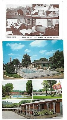 Knoxville, TN - 3 Cards - Motels