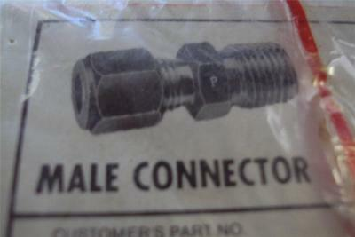 5 New Sealed Parker Cpi Male Connector Fbz-A Aluminum Alloy Fittings And Valves