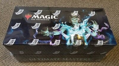 Sealed Magic the Gathering Ultimate Masters Booster Box w/Ultimate Box Topper