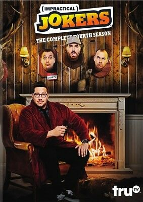 IMPRACTICAL JOKERS THE COMPLETE FOURTH SEASON 4 New Sealed 3 DVD Set