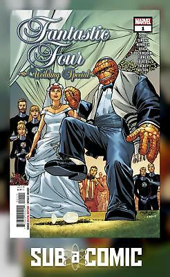 FANTASTIC FOUR WEDDING SPECIAL #1 (MARVEL 2018 1st Print) COMIC