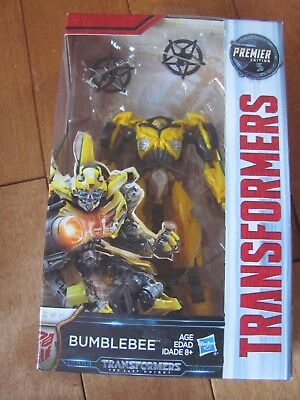 Transformers The Last Knight BUMBLEBEE Pose #2 Figure Premier Deluxe Class NEW
