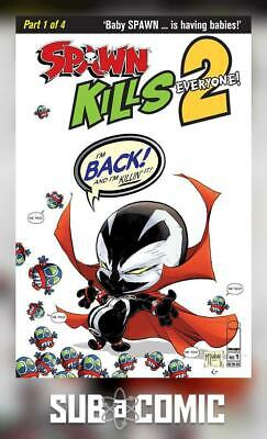 SPAWN KILLS EVERYONE TOO #1 COVER A CLEAN (IMAGE 2018 1st Print) COMIC