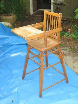 Antique Victorian METAMORPHIC HIGH CHAIR For Restoration