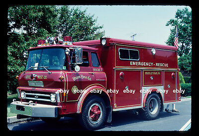 Middletown PA Chevrolet COE rescue Fire Apparatus Slide
