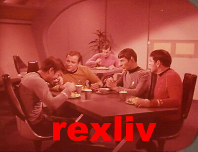 """RARE 1968~STAR TREK """"BY ANY OTHER NAME""""~""""OUT TAKE""""~35mm FILM CLIP/SLIDE~LOT 673"""