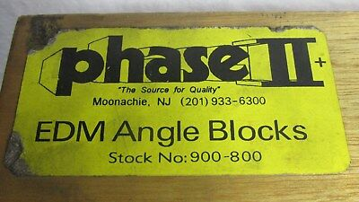 Phase II Angle Blocks 10 Piece Set 900-800 in wood case