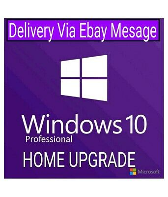 Windows 10 Pro Retail Activation Key + Upgrade Home to Pro. Instant delivery