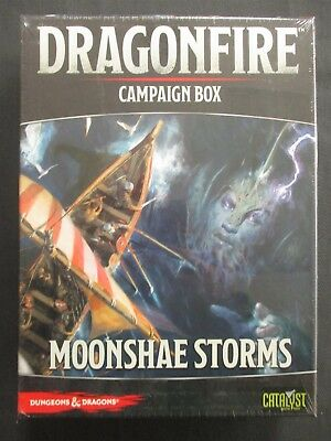 OEJ ~ D&D Dungeons Dragons ~ Dragonfire ~ Campaign Box ~ Moonshae Storms