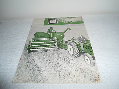 1960 Oliver Model 18 Pull-Type Combine Brochure  12pages