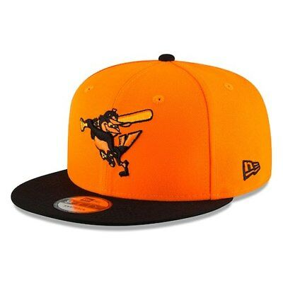 best loved 821d8 33d4b ... authentic new era baltimore orioles youth orange black 2018 players  weekend 9fifty 55e28 d5659