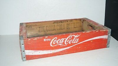 Woodstock 1980 Charleston Sc Wood Coca Cola Coke Carrier Carry Case Crate -Nice