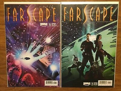 Boom Studios 2009 Farscape 1-24 Complete Set Variant Sliney TV