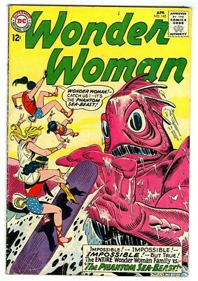 Wonder Woman #145 (1964) VG+ New DC Silver Age Collection