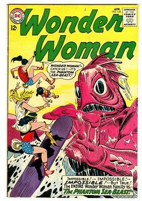 Wonder Woman #145 (1964) VF New DC Silver Age Collection