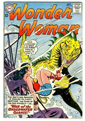 Wonder Woman #146 (1964) VG/F New DC Silver Age Collection