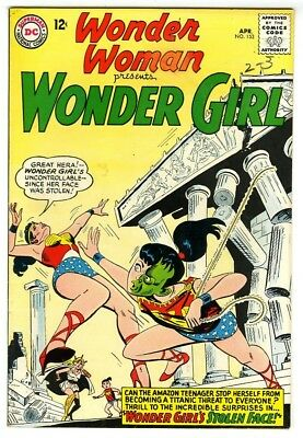 Wonder Woman #153 (1965) Fine New DC Silver Age Collection