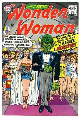 Wonder Woman #155 (1965) F/VF New DC Silver Age Collection