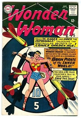 Wonder Woman #156 (1965) VF- New DC Silver Age Collection