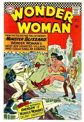 Wonder Woman #162 (1966) VF+ New DC Silver Age Collection