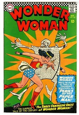 Wonder Woman #165 (1966) F/VF New DC Silver Age Collection