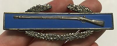 Original WWII Sterling CIB Combat Infantrymans Badge