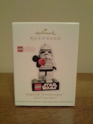 Star Wars Imperial Stormtrooper Lego 2012 Hallmark Keepsake Christmas Ornament