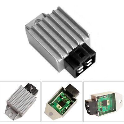 Motorcycle Voltage Regulator Rectifier  4Pin For GY6 50cc 125cc 150cc Scooter US