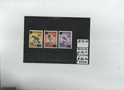 Jordan Birds Revalued Set Mnh Sca