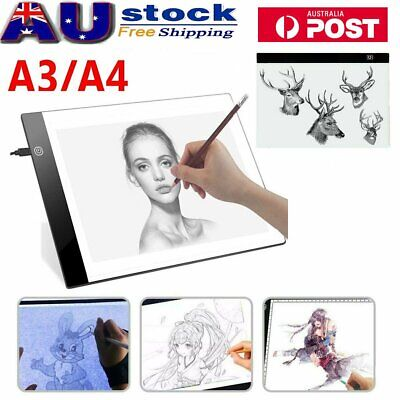 DC 5V A2/A3/A4 LED Light Box Tracing Drawing Board Art Design Pad Copy Lightbox