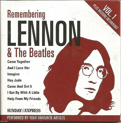 Lennon & The Beatles - Remember - Disc 1 Of 2 - Express Promo Cd