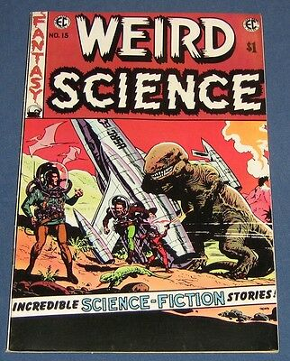 EC Classic Reprint #2 From East Coast Comix 1973  Weird Science #15