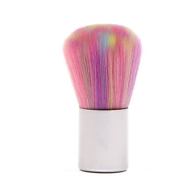 Soft Mix-color Nail Art Brush Acrylic UV Gel Powder Dust Cleaning Tools Beauty